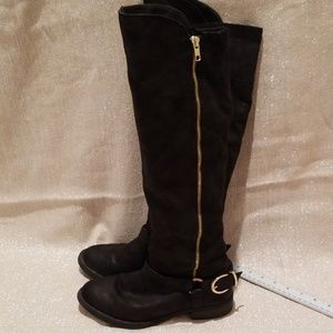 Mossimo knee high boots size 7.5